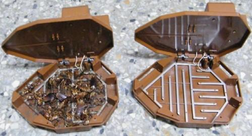 Как действуют электроловушки для насекомых.