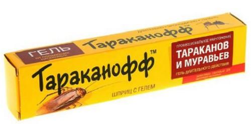 Как работает Тараканофф-гель.